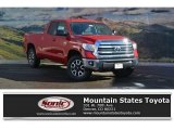 2017 Barcelona Red Metallic Toyota Tundra SR5 Double Cab 4x4 #118032303