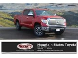 2017 Barcelona Red Metallic Toyota Tundra Limited CrewMax 4x4 #118032302