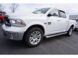 2017 Bright White Ram 1500 Laramie Longhorn Crew Cab 4x4 #118032482