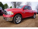 2017 Flame Red Ram 1500 Big Horn Quad Cab 4x4 #118032473