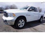 2017 Bright White Ram 1500 Big Horn Quad Cab 4x4 #118032471