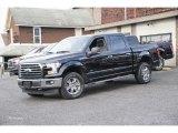2017 Shadow Black Ford F150 XLT SuperCrew 4x4 #118032525