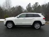 2017 Bright White Jeep Grand Cherokee Limited 4x4 #118032272