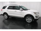 2017 White Platinum Ford Explorer Limited 4WD #118032222