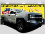 2017 Summit White Chevrolet Silverado 1500 LS Regular Cab 4x4 #118032350