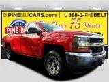 2017 Red Hot Chevrolet Silverado 1500 LS Regular Cab 4x4 #118032343
