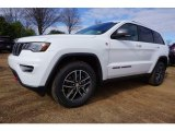 2017 Bright White Jeep Grand Cherokee Trailhawk 4x4 #118061090