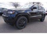 2017 Diamond Black Crystal Pearl Jeep Grand Cherokee Laredo #118061089