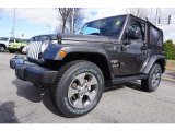 2017 Granite Crystal Metallic Jeep Wrangler Sahara 4x4 #118061086