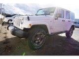 2017 Bright White Jeep Wrangler Unlimited Sahara 4x4 #118061084