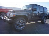 2017 Granite Crystal Metallic Jeep Wrangler Unlimited Sahara 4x4 #118061083