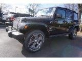 2017 Black Jeep Wrangler Unlimited Sahara 4x4 #118061080