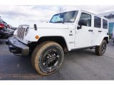 2017 Bright White Jeep Wrangler Unlimited 75th Anniversary Edition 4x4 #118061079