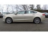 2017 White Gold Ford Fusion Hybrid SE #118061221