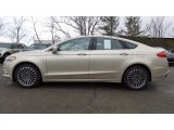 2017 White Gold Ford Fusion SE AWD #118061217