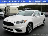 2017 White Platinum Ford Fusion Sport AWD #118060826
