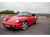 1990 Porsche 911 Guards Red