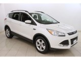 2014 White Platinum Ford Escape SE 1.6L EcoBoost 4WD #118061355
