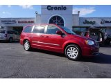 2016 Deep Cherry Red Crystal Pearl Chrysler Town & Country Touring #118094732