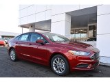 Ruby Red Ford Fusion in 2017