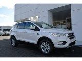 2017 White Platinum Ford Escape SE #118094657