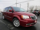 2016 Deep Cherry Red Crystal Pearl Chrysler Town & Country Touring #118094814