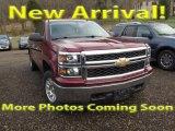 2014 Victory Red Chevrolet Silverado 1500 LT Crew Cab 4x4 #118094808