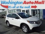 2014 White Diamond Pearl Honda CR-V LX AWD #118094637