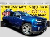 2017 Deep Ocean Blue Metallic Chevrolet Silverado 1500 LTZ Crew Cab 4x4 #118094561