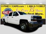 2017 Summit White Chevrolet Silverado 1500 LS Crew Cab #118094560