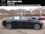 2017 Shadow Black Ford Fusion SE #118094624