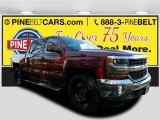 2017 Siren Red Tintcoat Chevrolet Silverado 1500 LT Crew Cab 4x4 #118094557