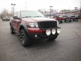 2006 Dark Toreador Red Metallic Ford F150 Lariat SuperCrew 4x4 #118124212