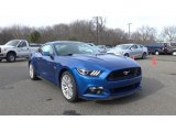 2017 Lightning Blue Ford Mustang GT Premium Coupe #118132742