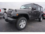 2017 Granite Crystal Metallic Jeep Wrangler Unlimited Sport 4x4 #118136005