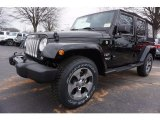2017 Black Jeep Wrangler Unlimited Sahara 4x4 #118136004