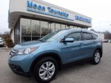 2014 Mountain Air Metallic Honda CR-V EX-L AWD #118136085