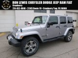 2017 Billet Silver Metallic Jeep Wrangler Unlimited Sahara 4x4 #118135960