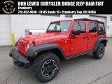 2017 Firecracker Red Jeep Wrangler Unlimited Rubicon Hard Rock 4x4 #118135958