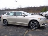 2017 White Gold Ford Fusion SE AWD #118135988