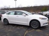 2017 White Platinum Ford Fusion SE AWD #118135987