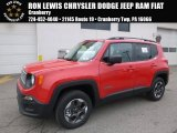 2017 Colorado Red Jeep Renegade Sport 4x4 #118135951