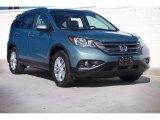 2012 Opal Sage Metallic Honda CR-V EX-L #118136067