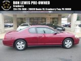 2006 Victory Red Chevrolet Monte Carlo LS #118135973