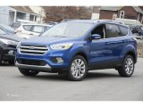 2017 Lightning Blue Ford Escape Titanium 4WD #118136058