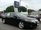 2009 Crystal Black Pearl Acura TSX Sedan #11800275