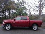 2014 Deep Cherry Red Crystal Pearl Ram 1500 SLT Crew Cab 4x4 #118156775