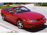 1994 Rio Red Ford Mustang Indianapolis 500 Pace Car Cobra Convertible #118156767