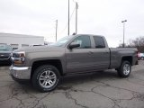 2017 Pepperdust Metallic Chevrolet Silverado 1500 LT Double Cab 4x4 #118176362
