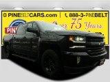 2017 Black Chevrolet Silverado 1500 LTZ Crew Cab 4x4 #118176201